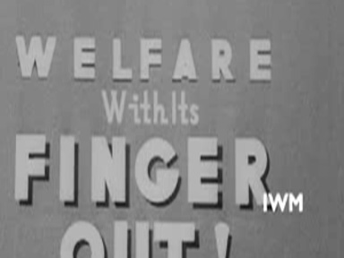 WELFARE WITH ITS FINGER OUT (2/1944)