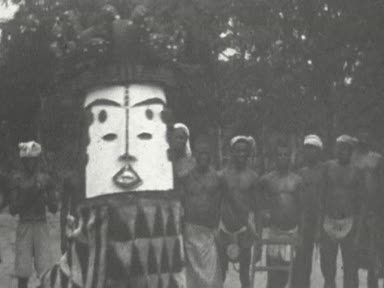 Basden Collection 3: 'Africa Dances' pt 3: Dancing competitions and masks
